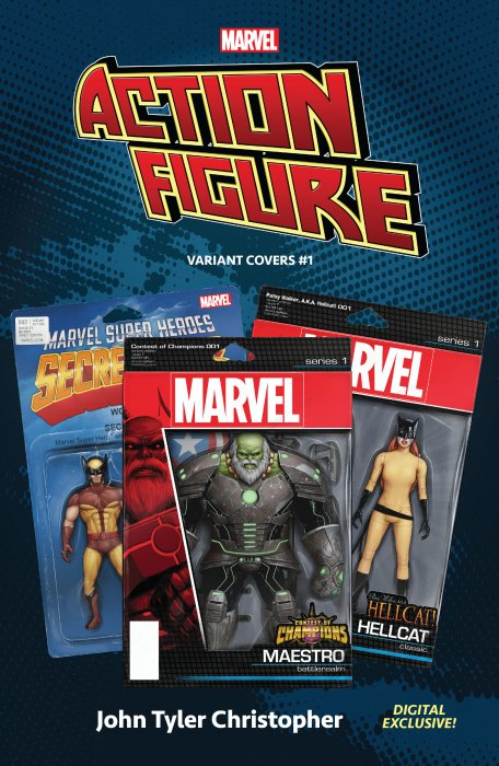 Marvel - The Action Figure Variant Covers #1