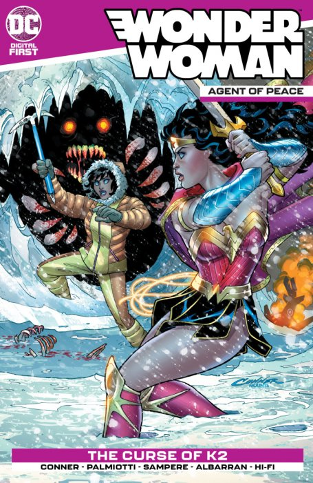 Wonder Woman - Agent of Peace #2