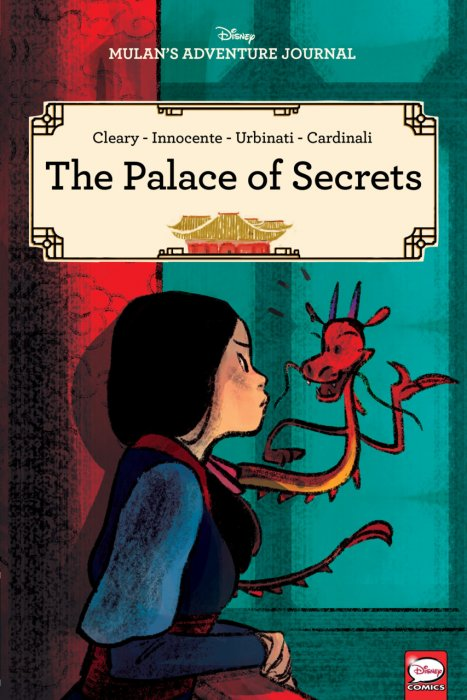 Disney Mulan's Adventure Journal - The Palace of Secrets #1 - GN