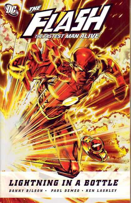 The Flash - The Fastest Man Alive Vol.1 - Lightning In A Bottle