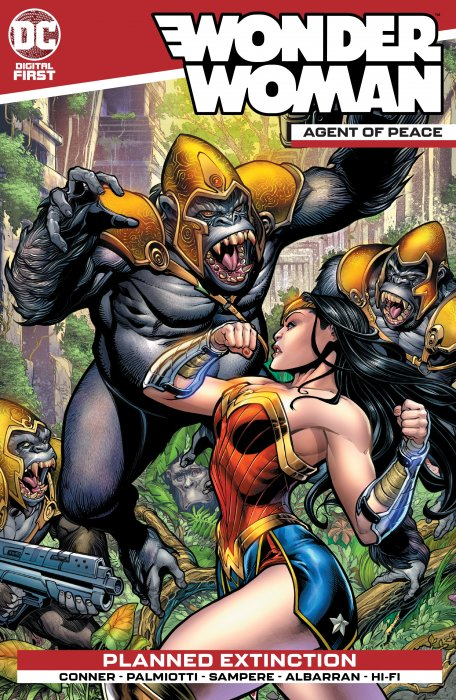 Wonder Woman - Agent of Peace #3