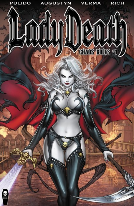 Lady Death #1-10 Complete
