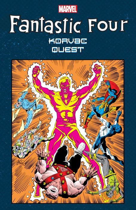 Fantastic Four - Korvac Quest #1