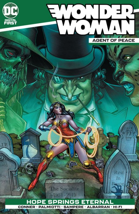 Wonder Woman - Agent of Peace #4