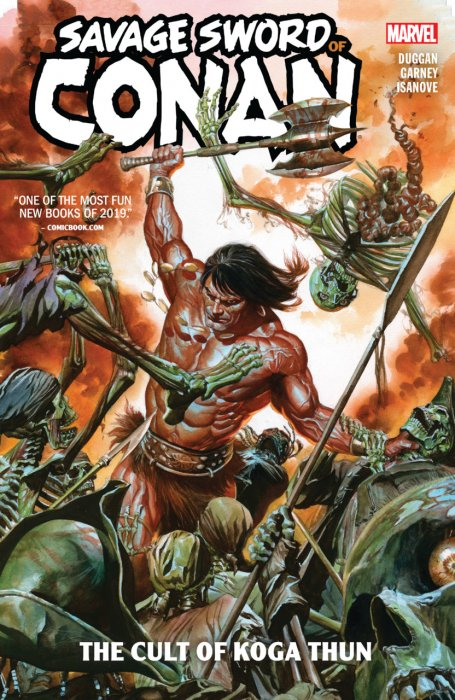 Savage Sword of Conan Vol.1 - The Cult of Koga Thun