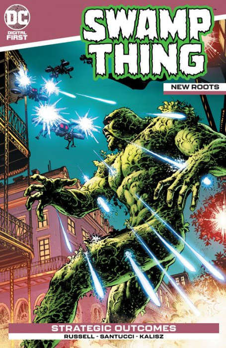 Swamp Thing - New Roots #4