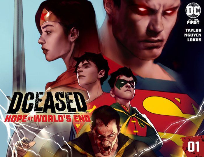 DCeased - Hope at World's End #1