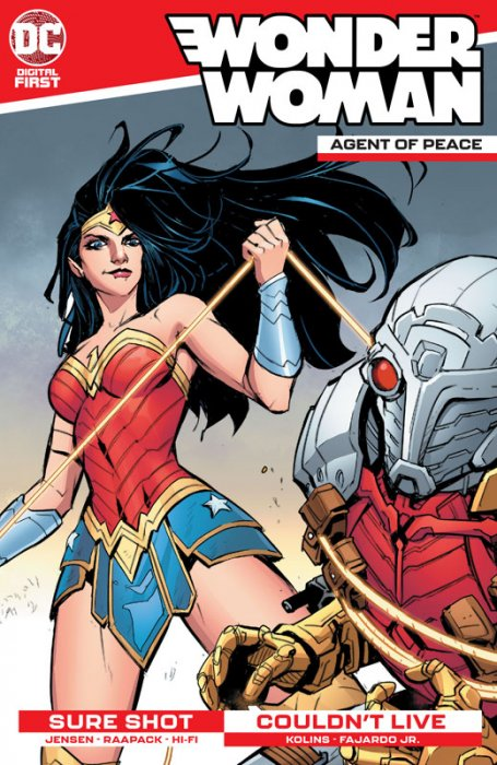 Wonder Woman - Agent of Peace #5