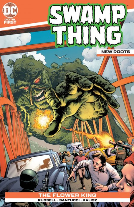 Swamp Thing - New Roots #5