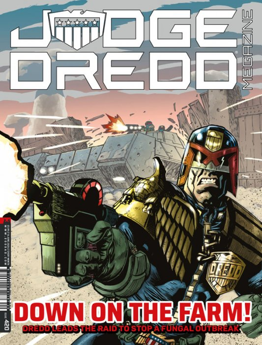 Judge Dredd The Megazine #420