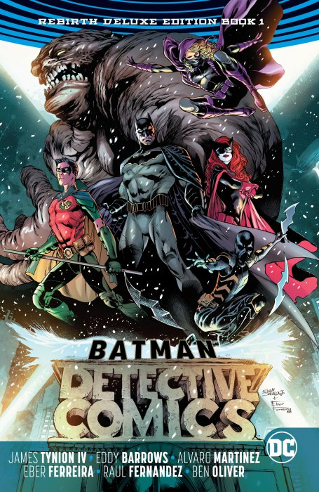Batman - Detective Comics - The Rebirth Deluxe Edition - Book 1