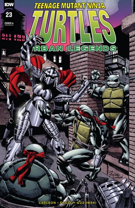 Teenage Mutant Ninja Turtles - Urban Legends #23