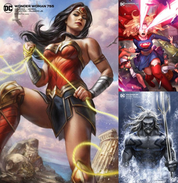 DC Variant Cover pack for 2020-05-26