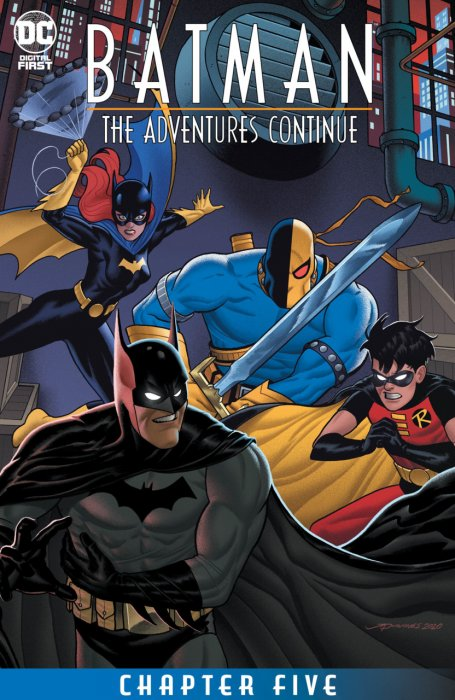 Batman - The Adventures Continue #5