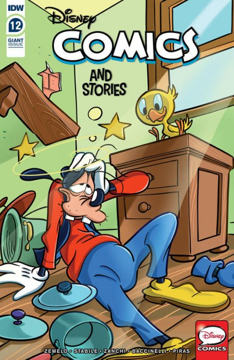 Disney Comics and Stories #12