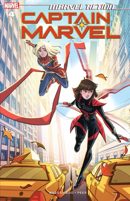 Marvel Action - Captain Marvel #4