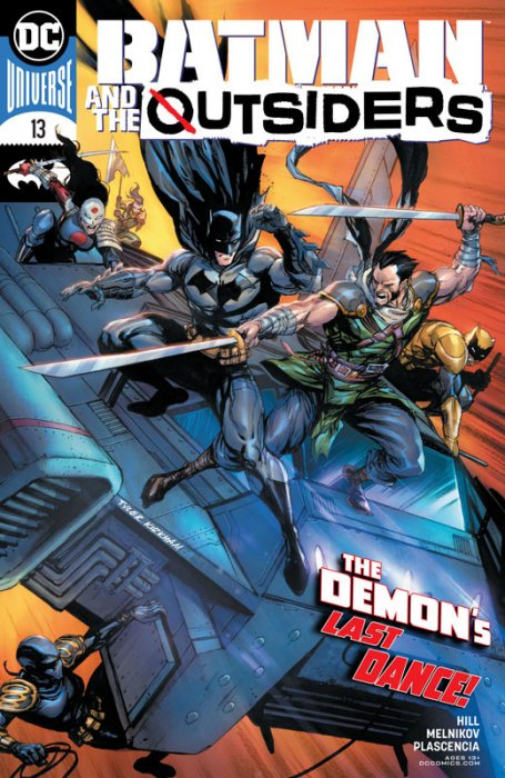 Batman & the Outsiders #13