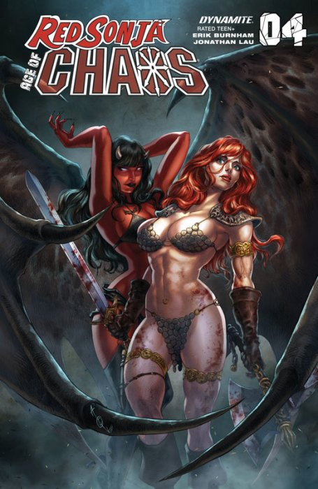 Red Sonja - Age of Chaos #4