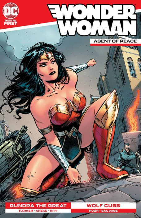 Wonder Woman - Agent of Peace #6