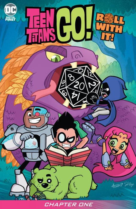 Teen Titans Go! Roll With It! #1