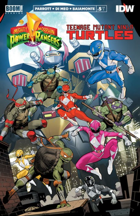 Mighty Morphin Power Rangers - Teenage Mutant Ninja Turtles #5