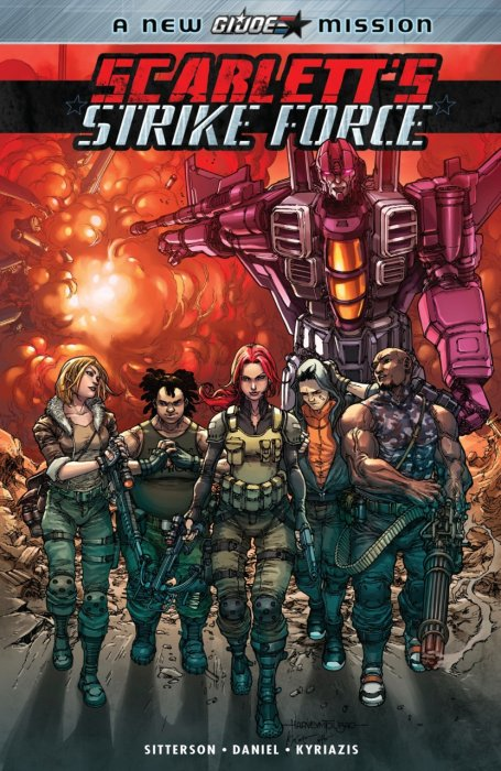 Scarlett's Strike Force #1 - TPB