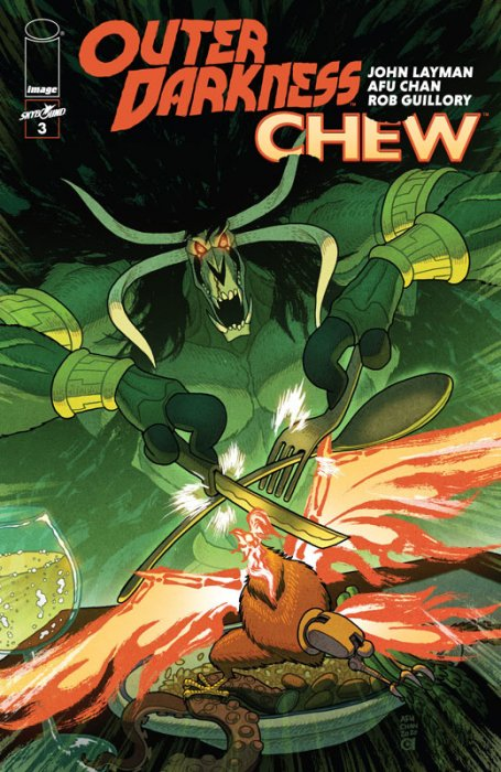 Outer Darkness - Chew #3