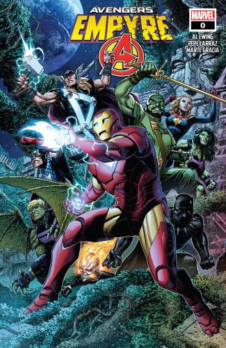Empyre #0 - Avengers