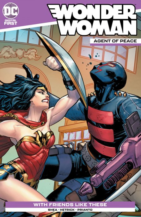 Wonder Woman - Agent of Peace #7