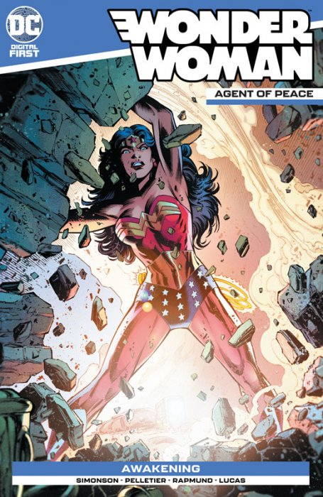 Wonder Woman - Agent of Peace #8