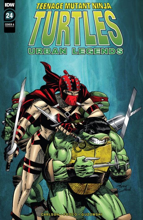 Teenage Mutant Ninja Turtles - Urban Legends #24