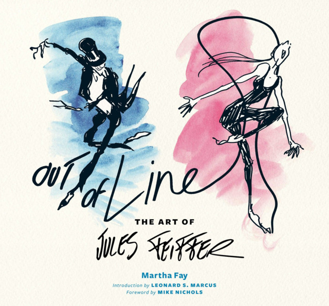 Out of Line - The Art of Jules Feiffer #1 - HC