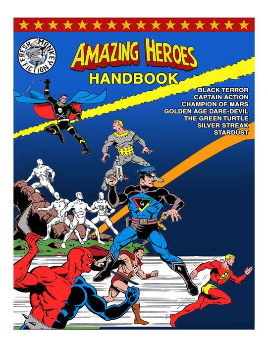 Amazing Heroes Handbook #1