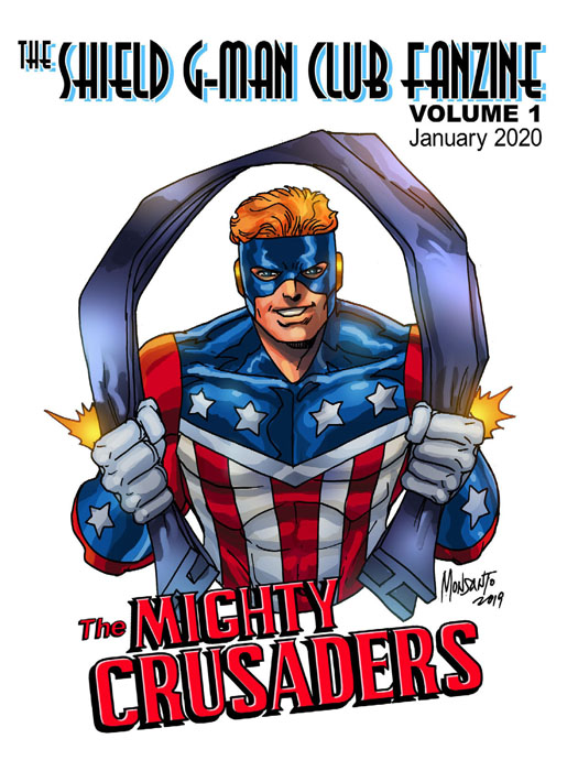 Shield G-Man Club Fanzine #1-4 Complete