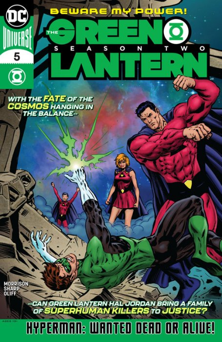 The Green Lantern - Season Two #5