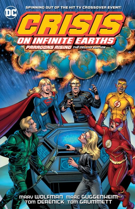Crisis on Infinite Earths - Paragons Rising the Deluxe Edition #1 - HC