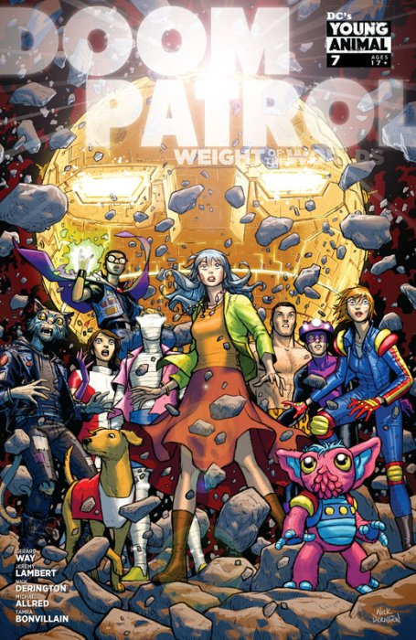 Doom Patrol - Weight of the Worlds #7