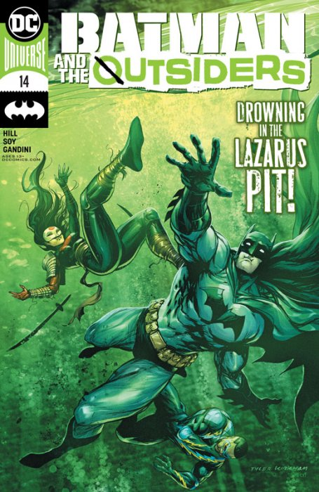 Batman & the Outsiders #14