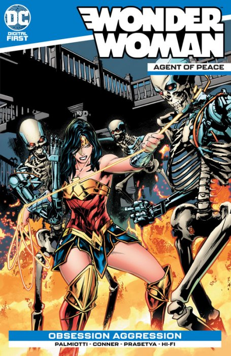 Wonder Woman - Agent of Peace #9