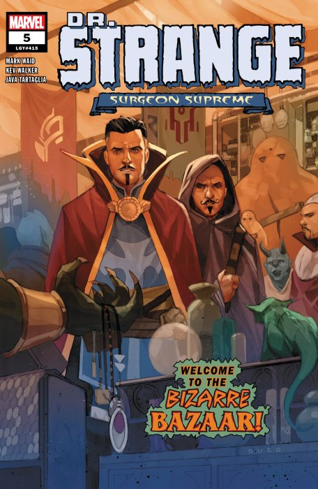 Dr. Strange - Surgeon Supreme #5