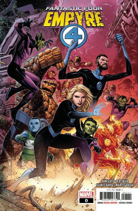 Empyre - Fantastic Four #0