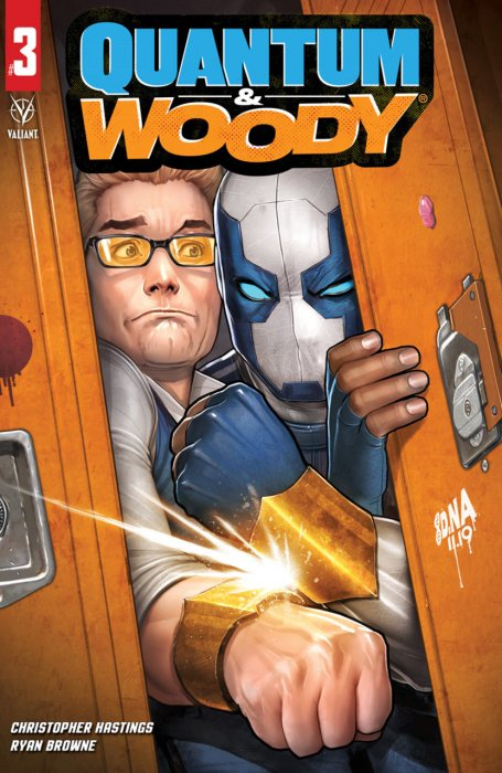 Quantum and Woody #3