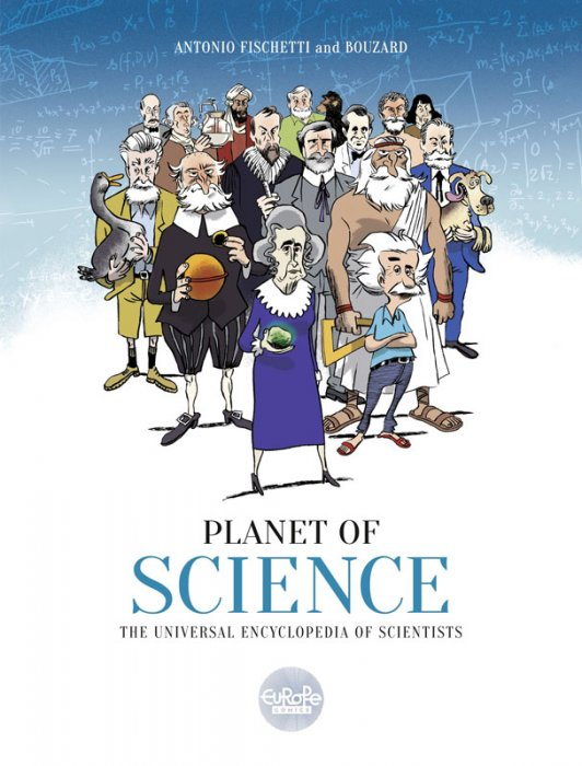 Planet of Science - The Universal Encyclopedia of Scientists #1