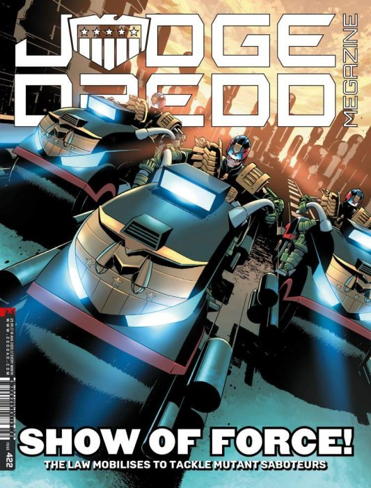 Judge Dredd The Megazine #422