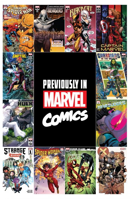 Previously in Marvel Comics Recap Guide #1