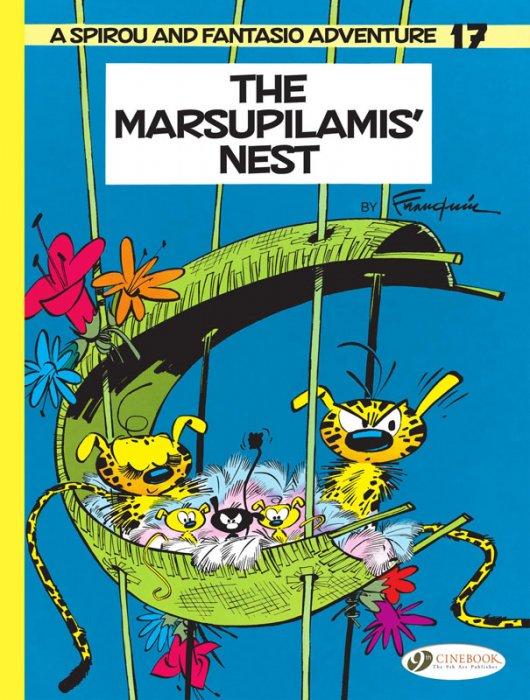 Spirou & Fantasio #17 - The Marsupilamis' Nest