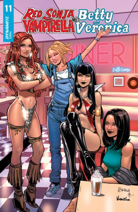 Red Sonja and Vampirella Meet Betty and Veronica #11