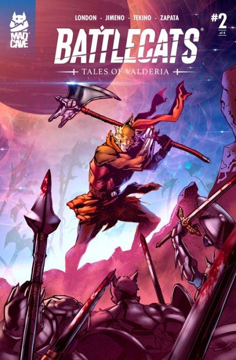 Battlecats - Tales of Valderia #2-4