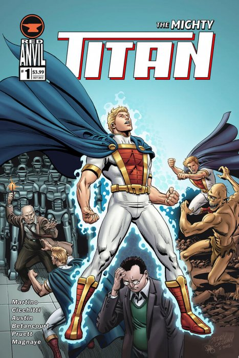 The Mighty Titan #1-6 Complete