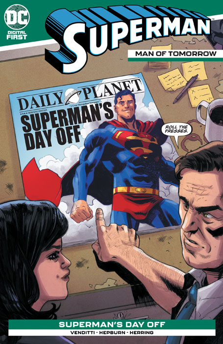 Superman - Man of Tomorrow #12